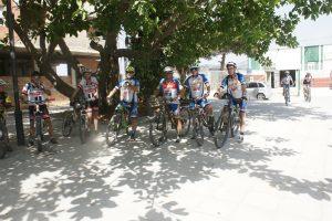 Punto de Partida eurociclismogranadasur en calle timón